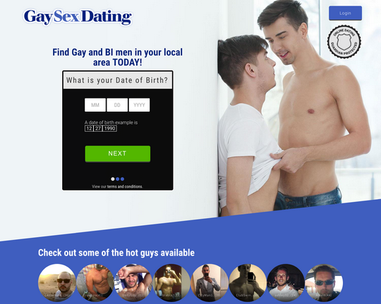 Gay Sex Dating Logo